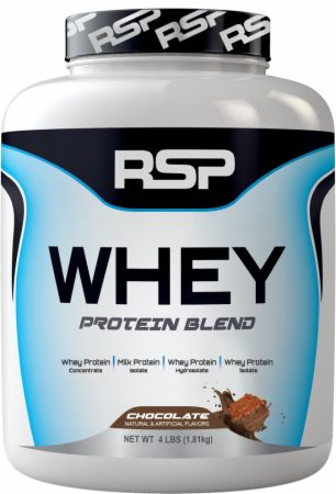 RSP Nutrition WHEY, 4 lbs