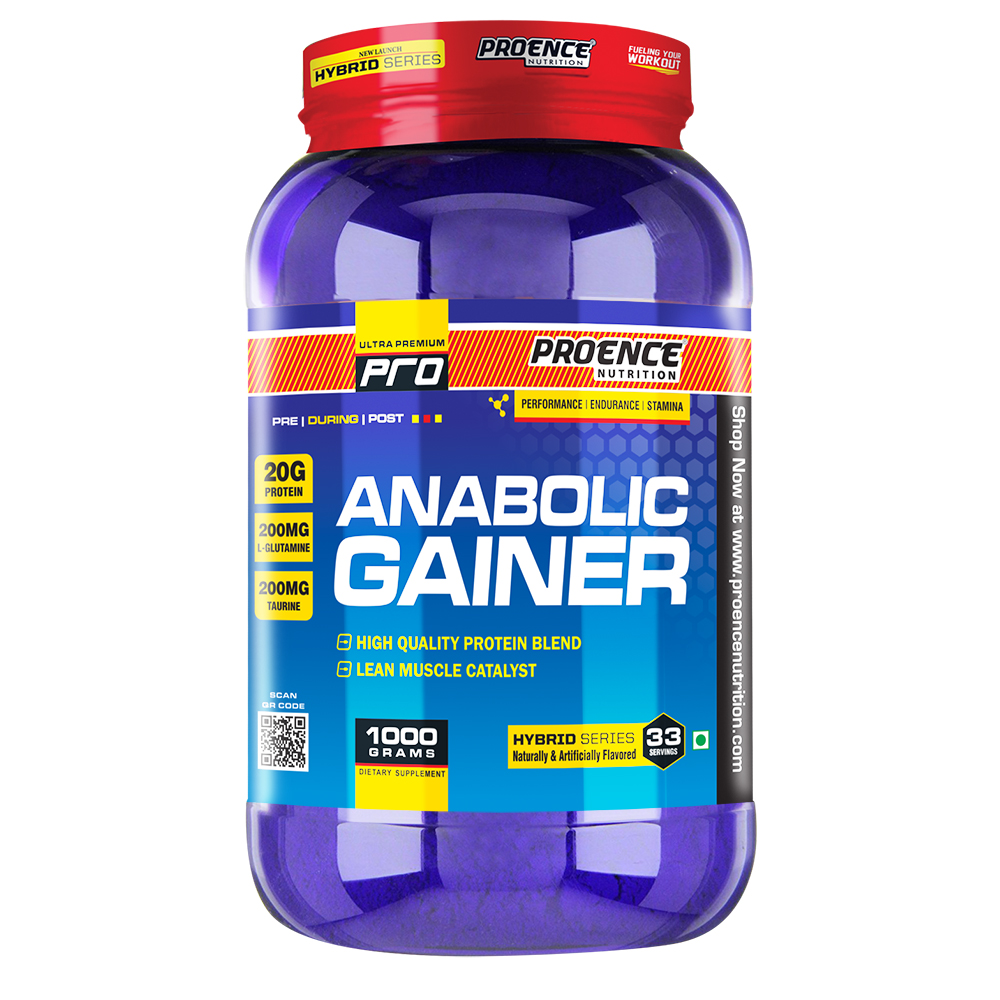 Proence Nutrition Anabolic Gainer 1 Kgs
