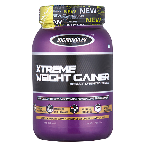 Bigmuscles Xtreme Weight Gainer 1 Kg