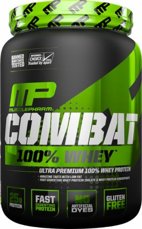 MusclePharm Combat 100% Whey, 5 lbs
