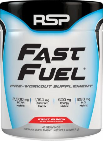 RSP Nutrition Fast Fuel, 45 Servings Fruit Punch