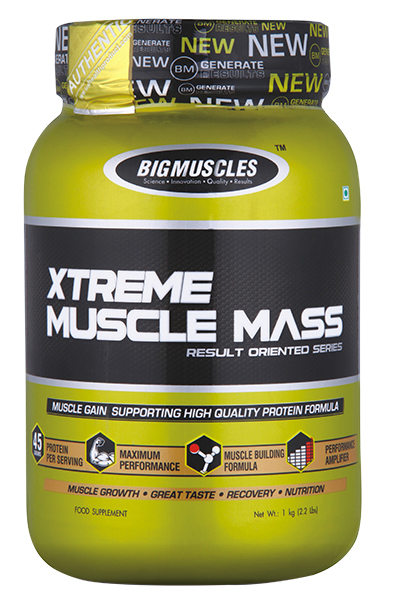 Bigmuscles Xtreme Muscle Mass 1 Kg